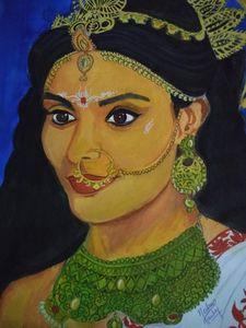 The Hindu Goddess (Parvati Maa)