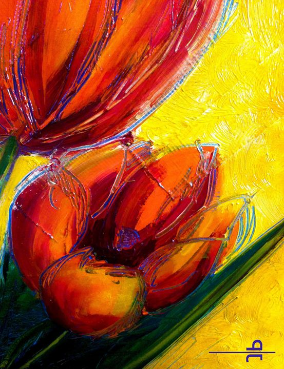 Tulips close-up - Penny