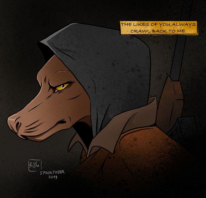 Wolfman (Day 5 of Spooktober) - Kiślu