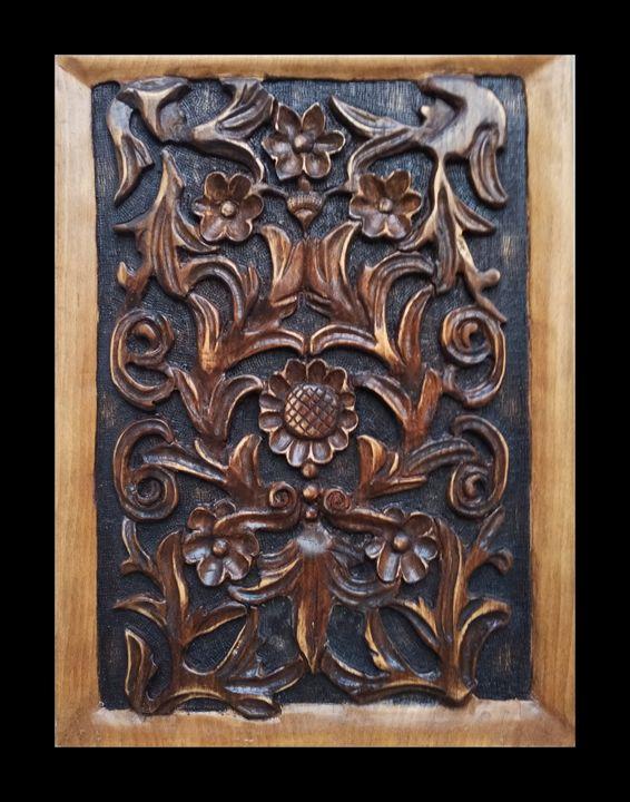 Byzantine classic art - woody tale