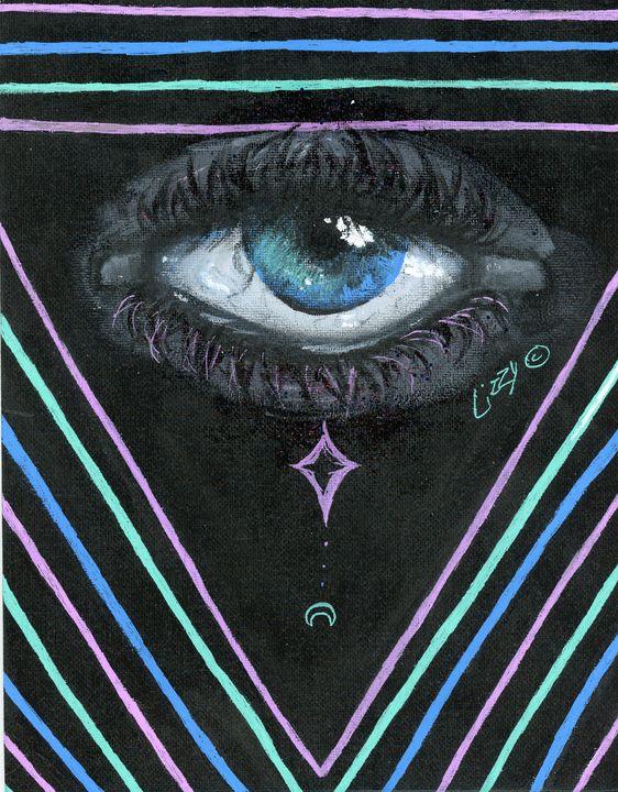 Eye am watching you - Liz's art