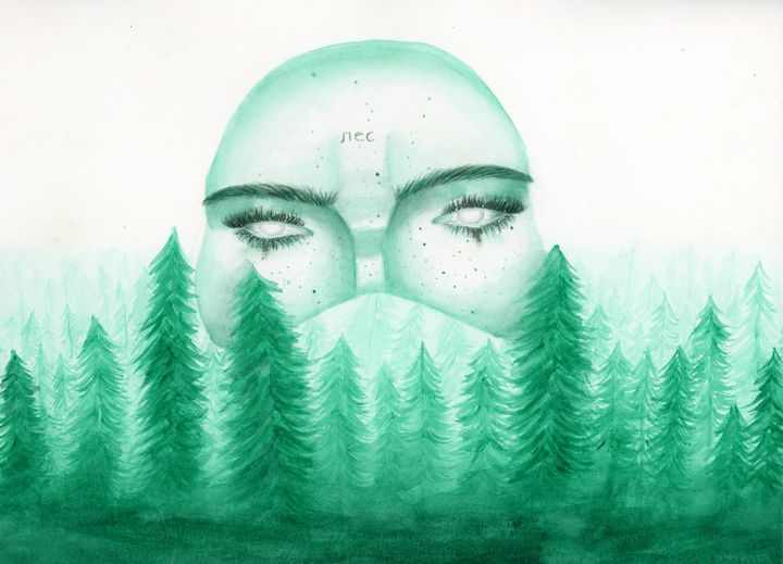 Mother Forest - Liz's art