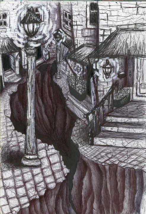 Fever dream landscape - Liz's art