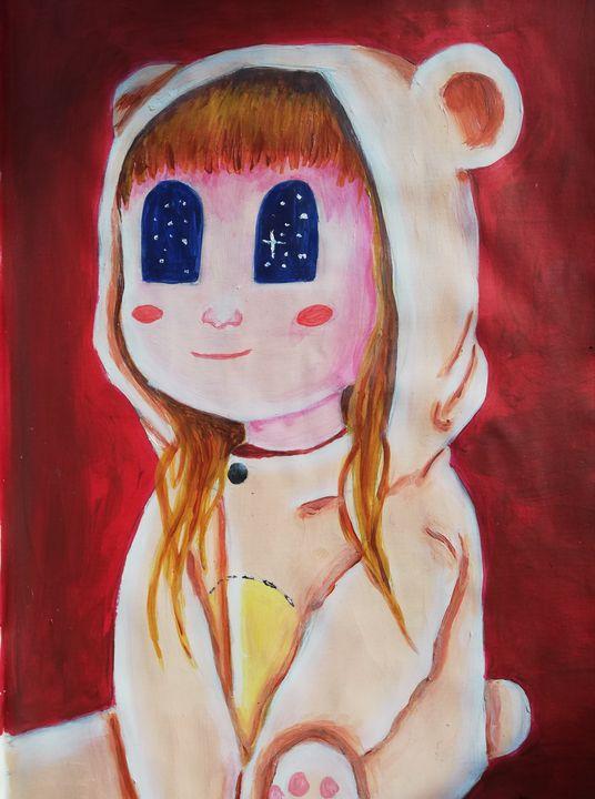 Little girl - Yellowwoodsorrel