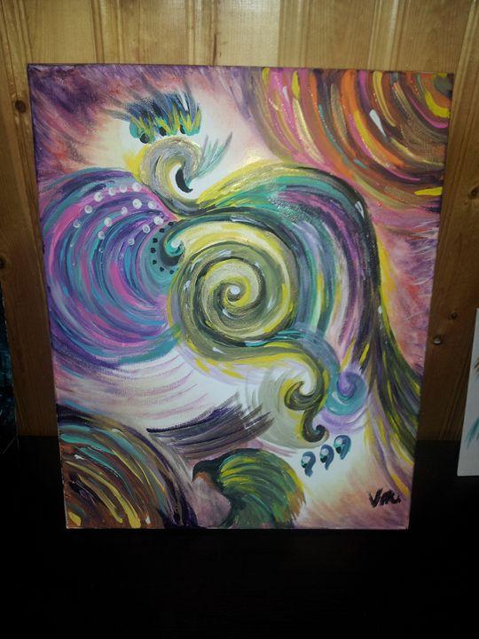 """""""High Reign"""" - Inner Child Artwork"""