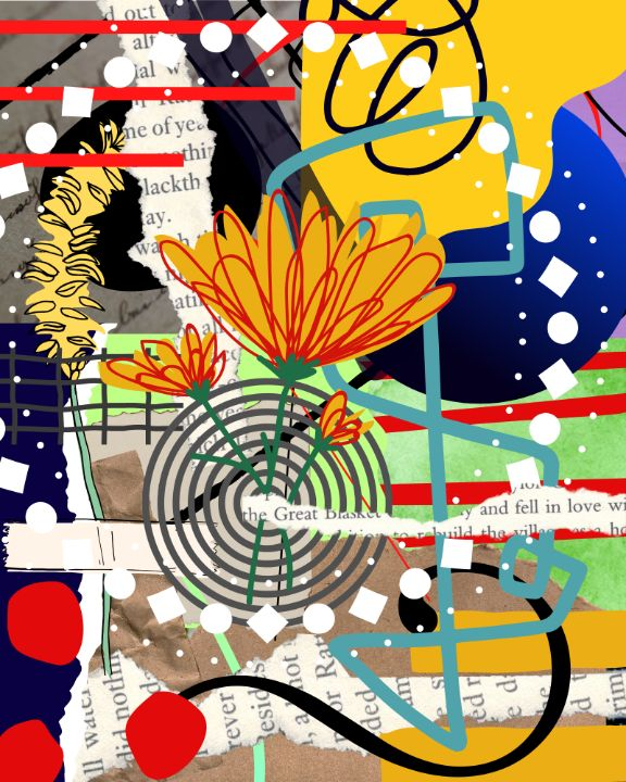 Ceaseless Movement - Tina Mitchell Art