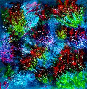 Fireworks - Tina Mitchell Art
