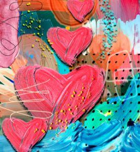 Hearts Rising - Tina Mitchell Art