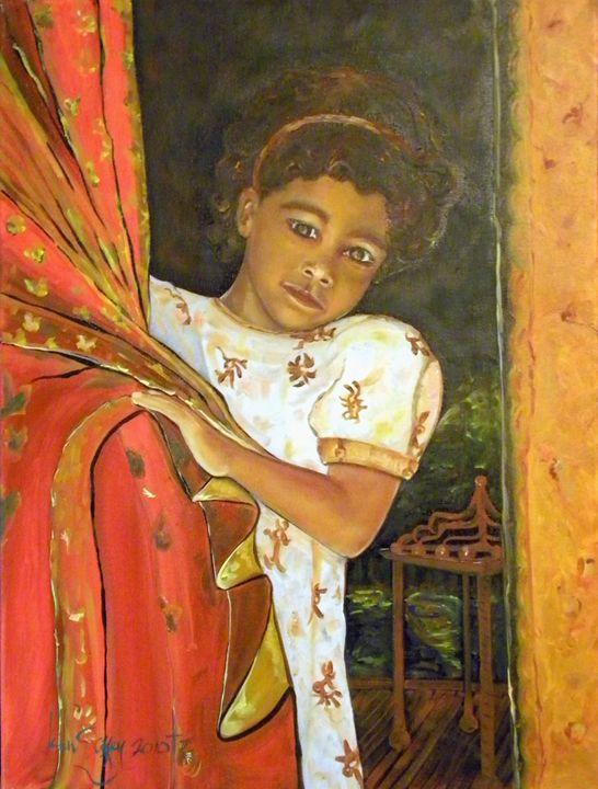 """""""Indias Girl"""" - Ken Caffey Fine Art"""