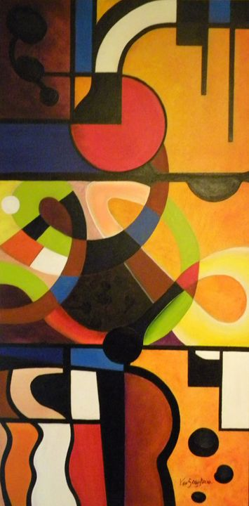 """""""Life Digest"""" - Ken Caffey Fine Art"""