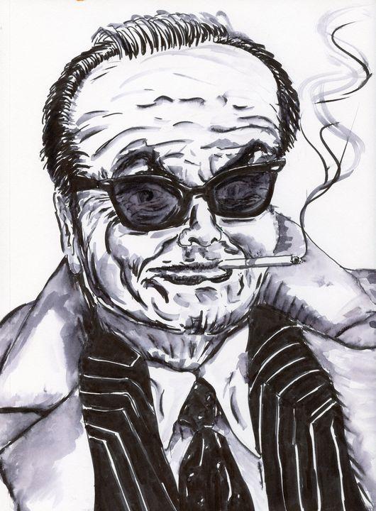 Jack Nicholson - SplatterMarks