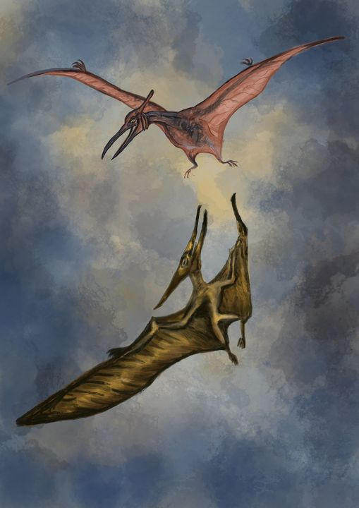 The mating dance of the pterodactyl - SplatterMarks