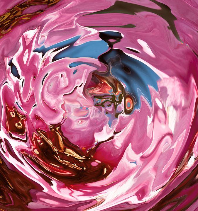 pink and purple vortex - brunopaolobenedetti