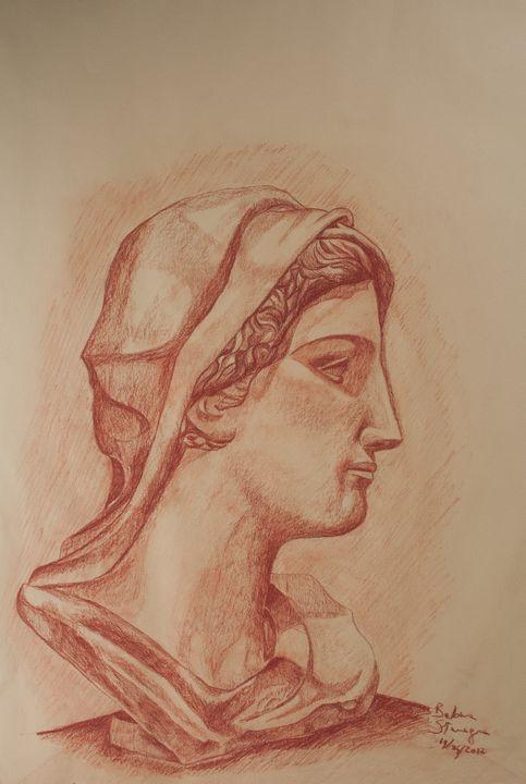 roman bust - BBS Art