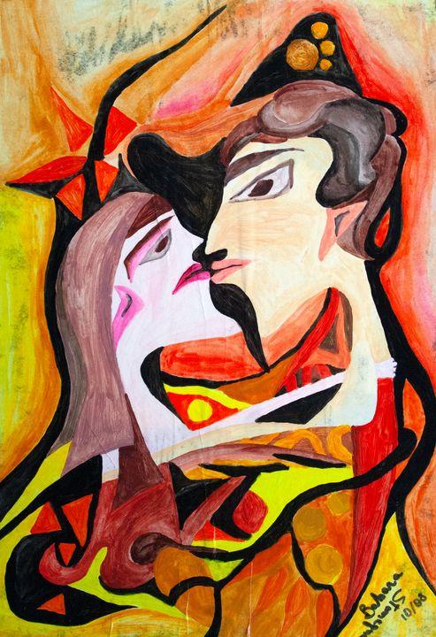 the kiss - BBS Art