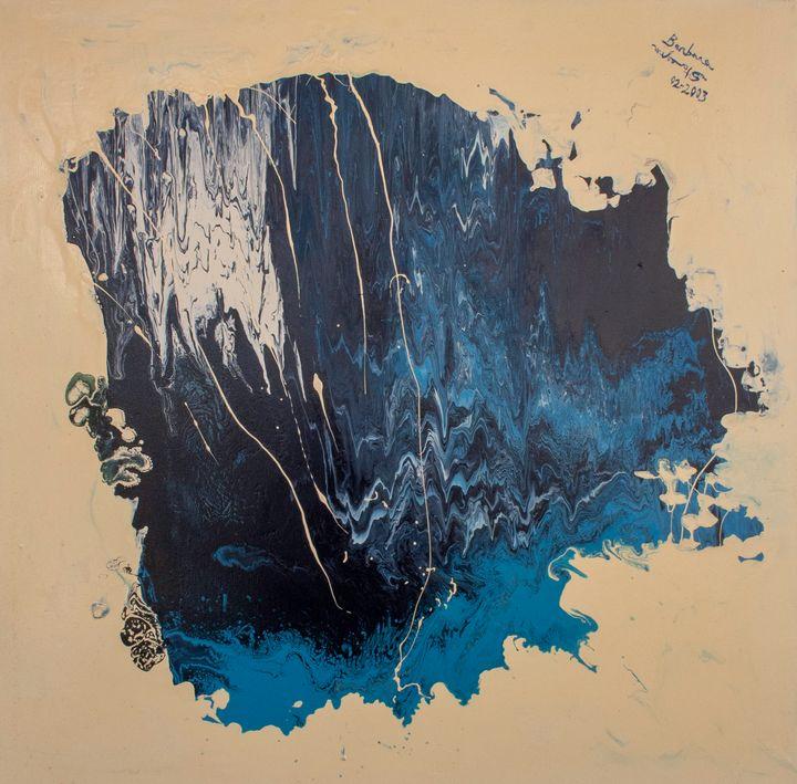 abstract sea cave - BBS Art
