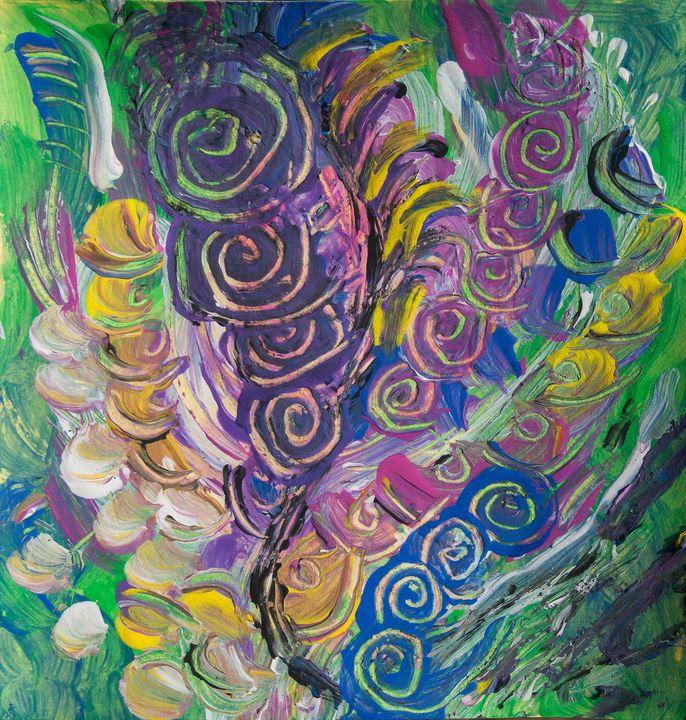 twisting nature abstract art - BBS Art