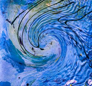 fluid indigo vortex