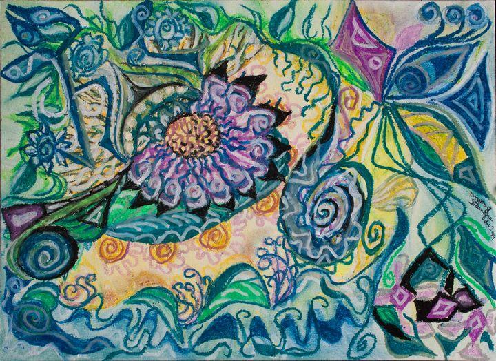 mystic happy abstract nature - BBS Art