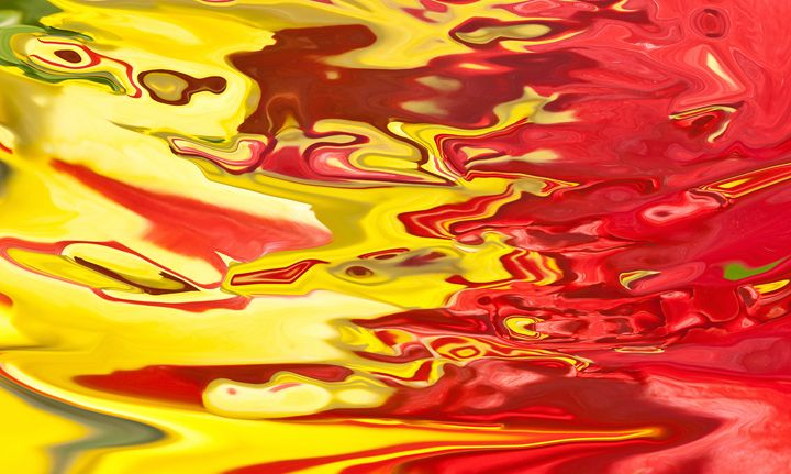 red and yellow color flow - brunopaolobenedetti