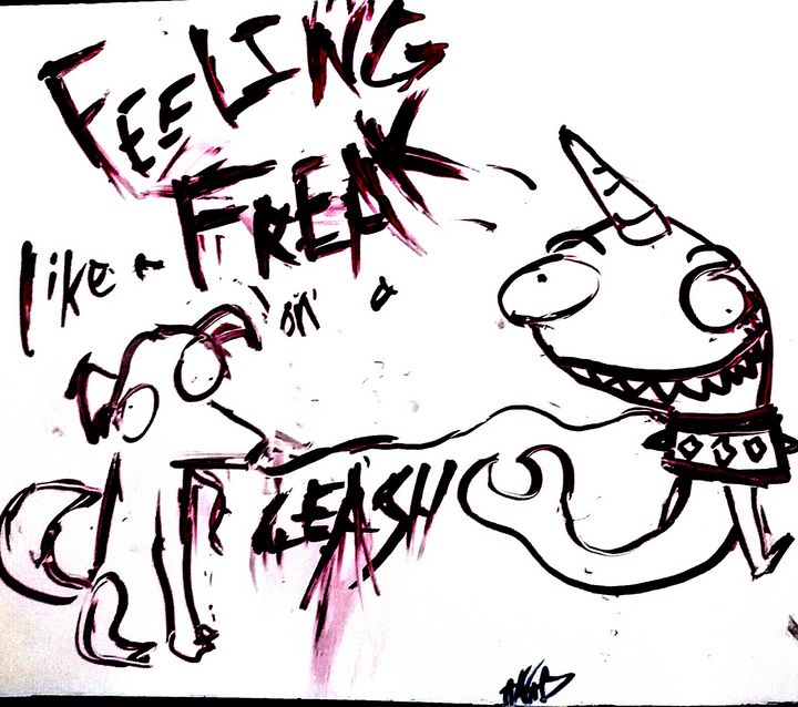 Freak. - A Narwhal A Day