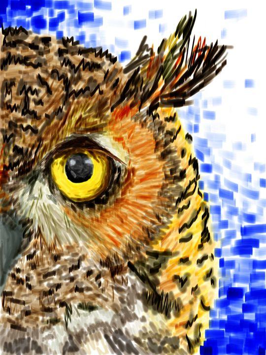 The Owl - Jeanne Fallon