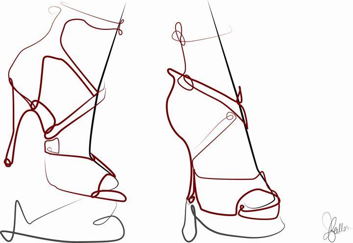 High Heels - Jeanne Fallon