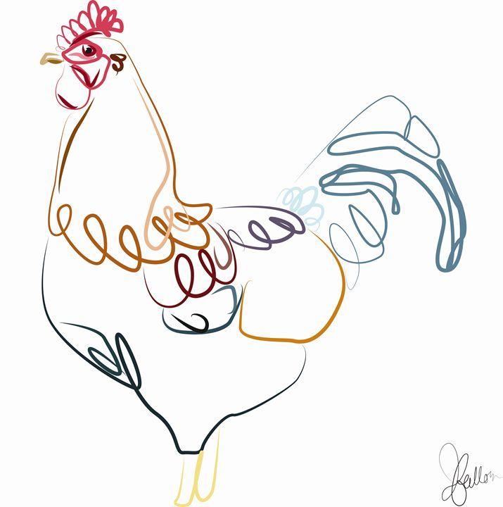 Rooster - Jeanne Fallon