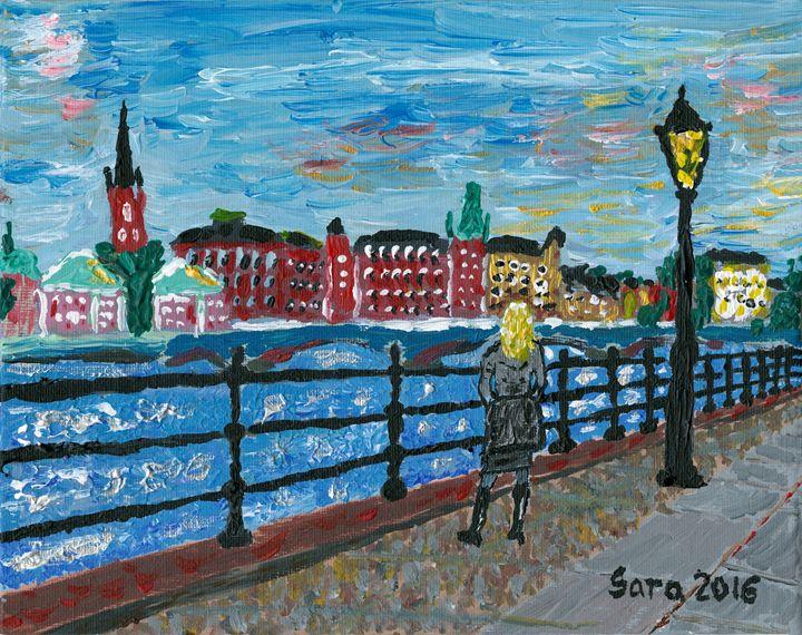 Kvinnan på Strömgatan - Emmé la Vie