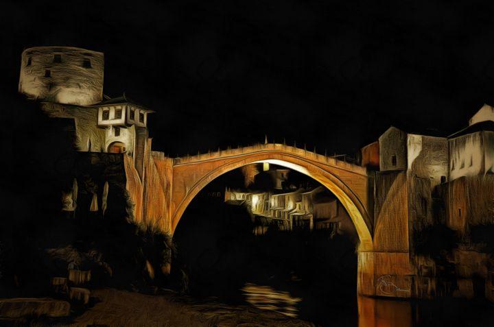 Stari Most u Mostaru - Ramo Sabanovic
