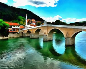 The Old Stone Bridge Konjic