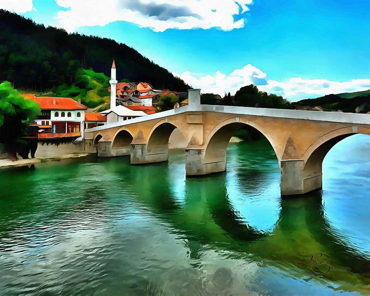 The Old Stone Bridge Konjic - Ramo Sabanovic