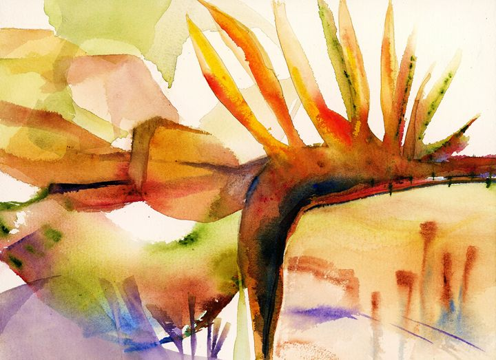 Bird of Paradise by Grace Fong - Wineries & Landscapes by Grace Fong
