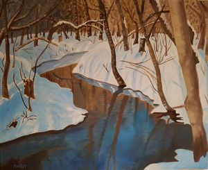 Spring Thaw - Marilyn Welsh