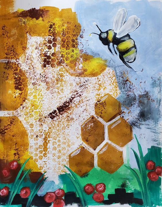 Bee happy - Redbird