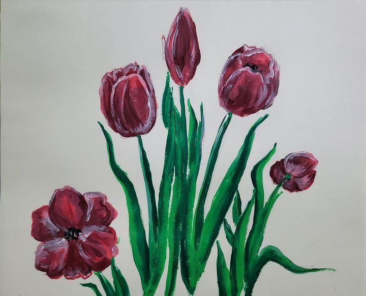 Tulips - Redbird
