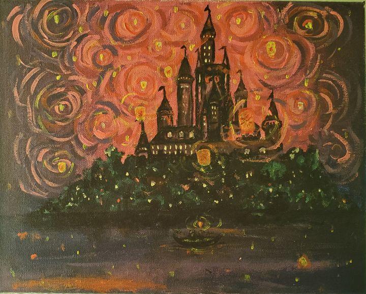 Starry tangled night - Redbird