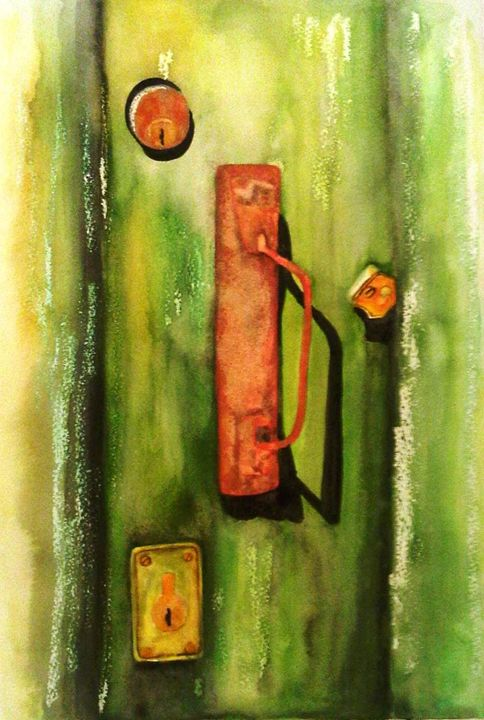 Door Knob - Hannah's Art Gallery
