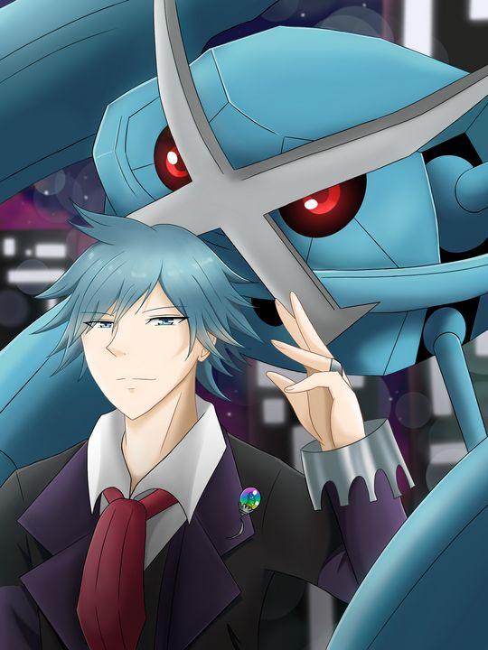 Steven stone and metagross (pokemon) - Yukinerashi
