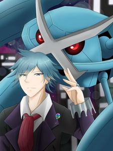 Steven stone and metagross (pokemon)
