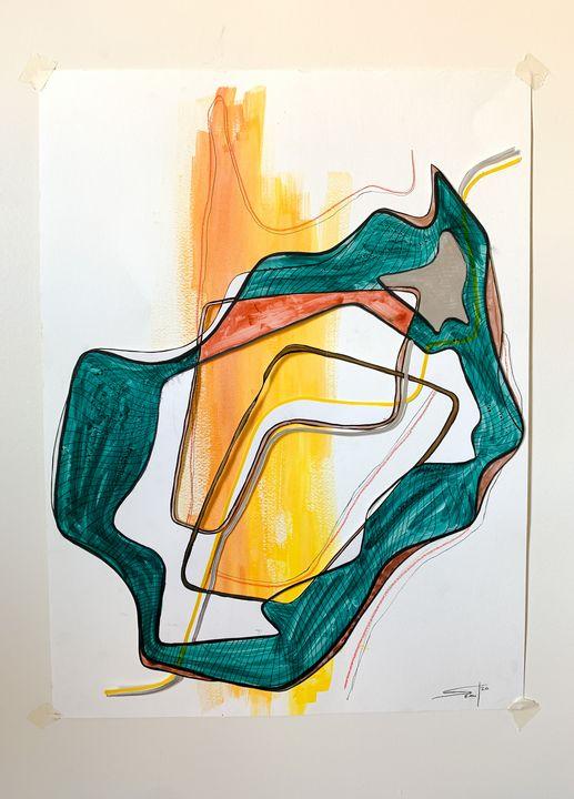 Sun Beam - Seantii Art