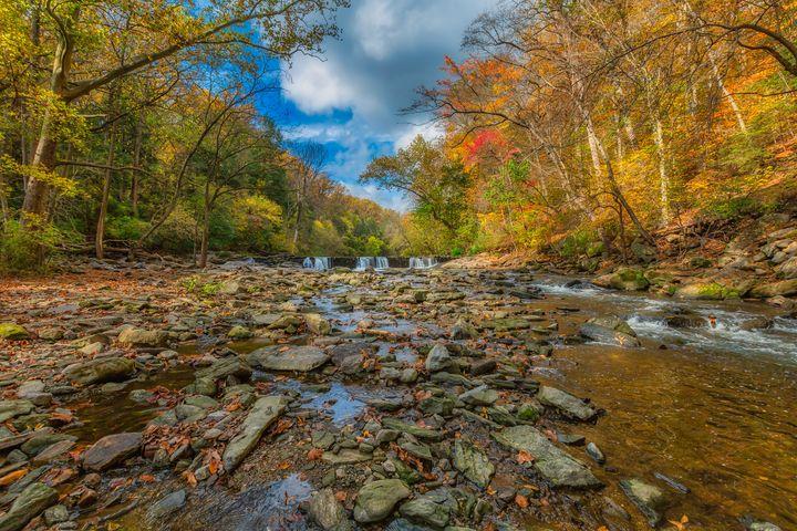 Wissahickon Creek 10.23.20B - Howard Roberts Photography