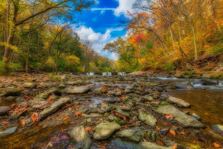 Wissahickon Creek 10.23.20C - Howard Roberts Photography