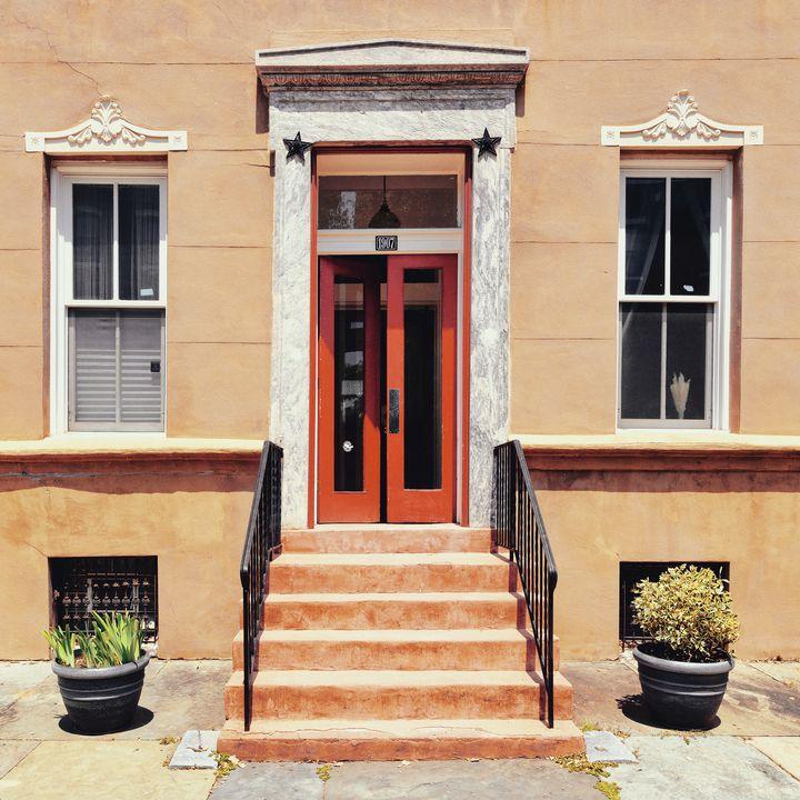 Philadelphia doorway 0725b - Howard Roberts Photography