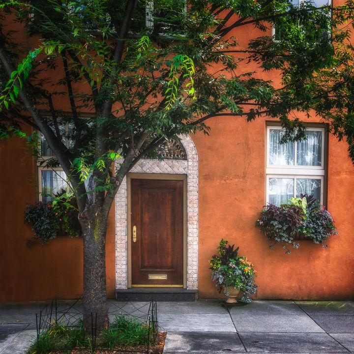 Philadelphia doorway 0725e - Howard Roberts Photography