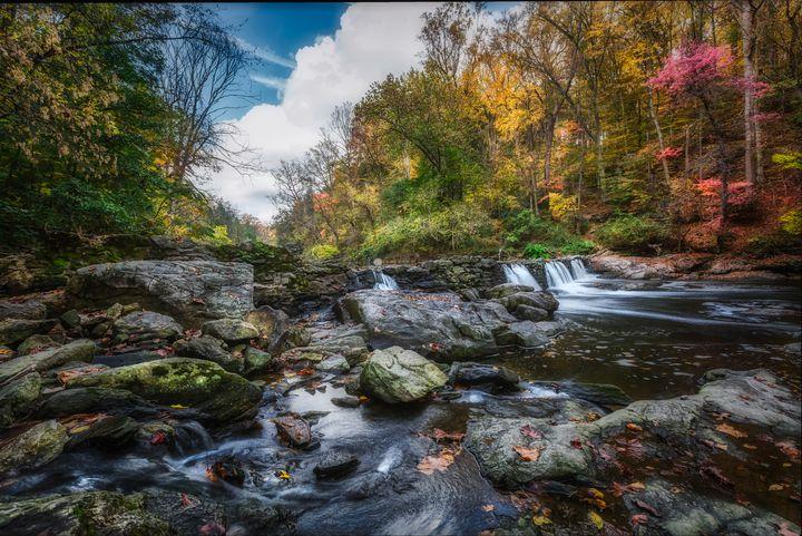 Wissahickon Creek 10.23.20I - Howard Roberts Photography
