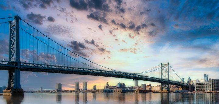 Ben Franklin Bridge 10.24.20 - Howard Roberts Photography