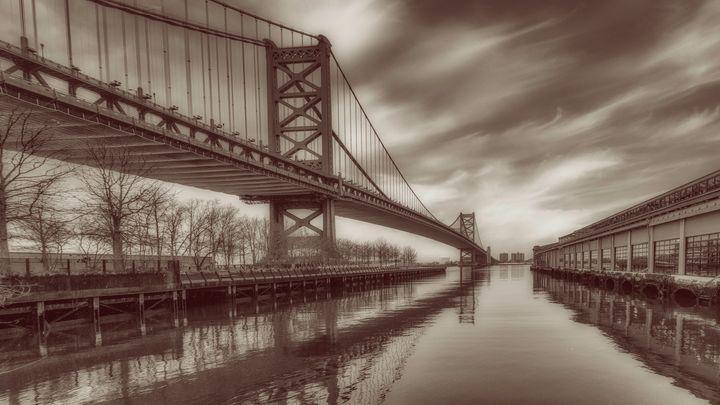 Ben Franklin Bridge 12/20d - Howard Roberts Photography