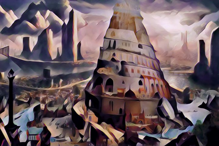 Tower of Babel 1.0 - Chester Sky Artwork