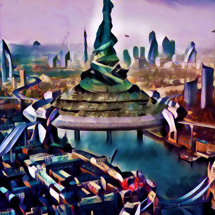 Tower of Babel 2.0 - Chester Sky Artwork